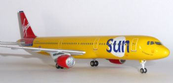 Airbus A321 Virgin Sun Airlines Shuco Starjets Collectors Model Scale 1:200 E